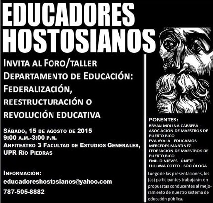 educadores hostosianos